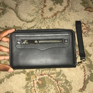 Rebecca Minkoff iPhone Clutch Wallet Black